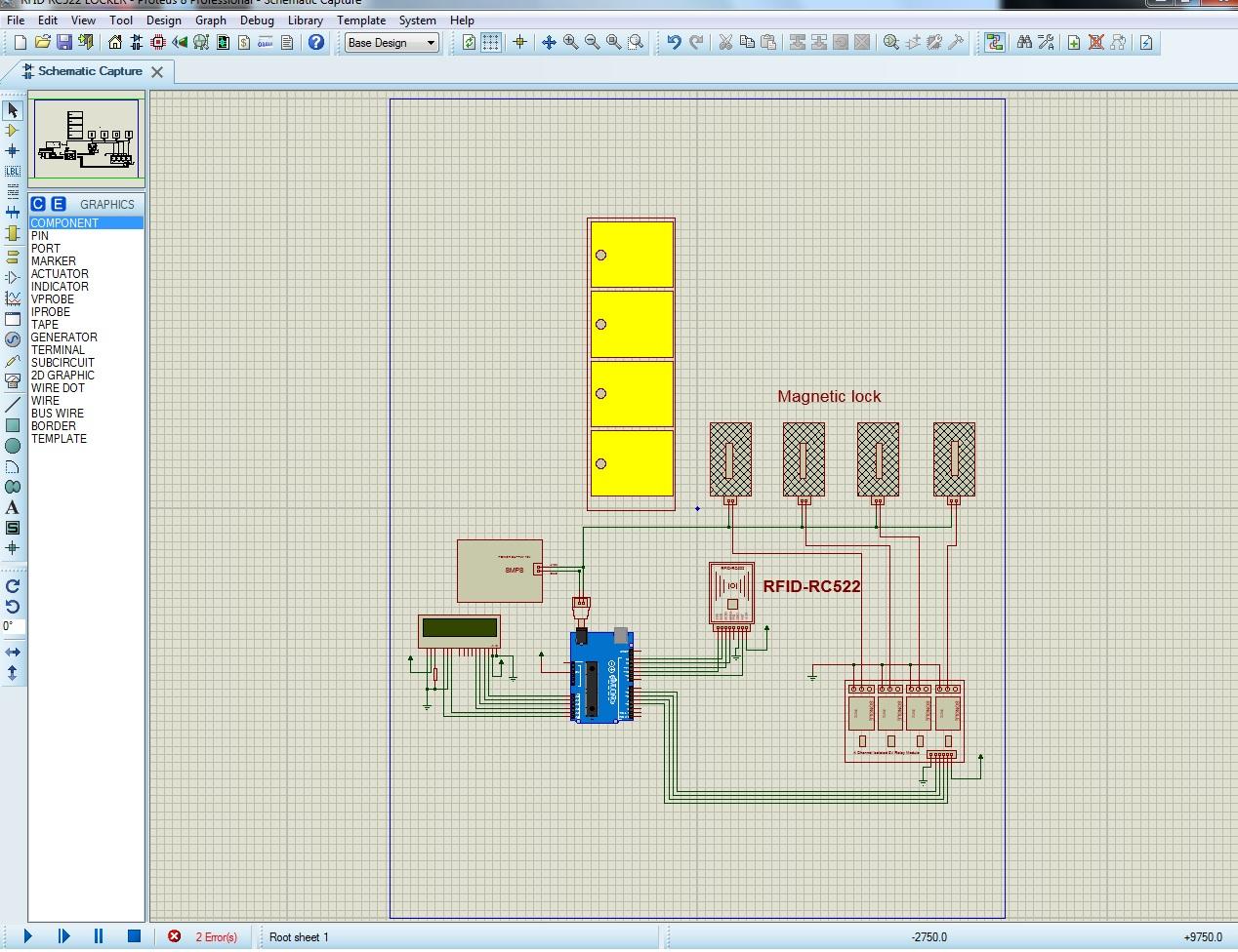 Projek Elektronik: RFID-RC522 Multiple Locker System on rfid receiver, rfid circuit, rfid components, rfid sensor, rfid design, rfid system, rfid architecture, rfid reader, rfid block,
