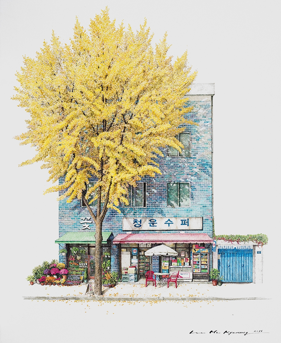 01-Chungunsupera-Me-Kyeoung-Leehas-Pencil-Drawings-of-Convenience-Stores-in-South-Korea-www-designstack-co