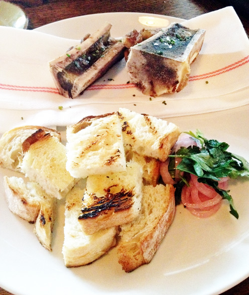 Bone marrow at Lockeland Table in Nashville Tennessee
