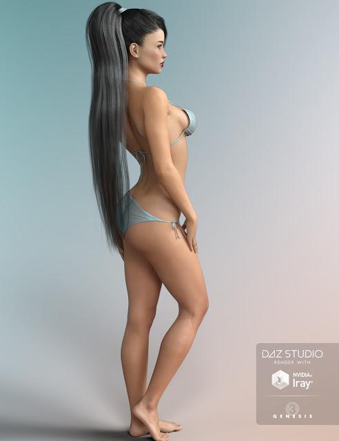 FW Ella HD for Genesis 3 Female