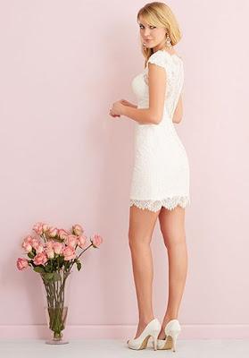 opciones de Vestidos de Novia Cortos