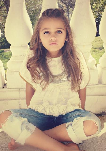 boho bambina a lil bit fancy