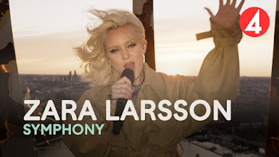 """INYIM Media: 2021 First Flashback Friday - Zara Larsson Simply Illuminates With Her Breathtaking Rendition Of """"Symphony"""" On TV4's Late Night Concert """"Gröna Lund Theme Park"""""""