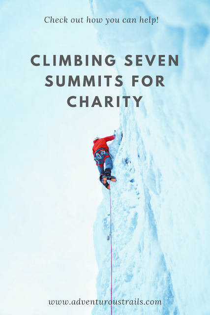 I am climbing Seven Summits for charity and need your help to save the African elephants. Read more about the cause and how you can help.