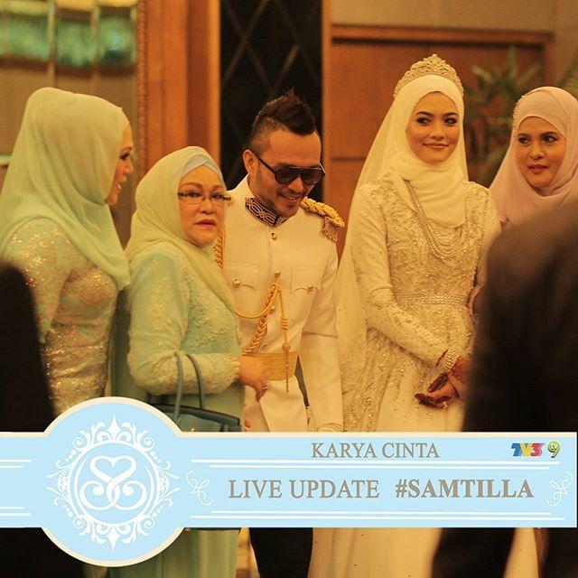 Resepsi Perkahwinan Shaheizy Sam & Syatilla Melvin