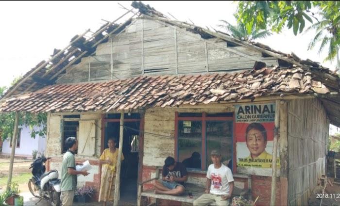 Menurut Data dari BPBD Lampura, ada 28 rumah Warga yang rusak akibat Angin puting beliung.