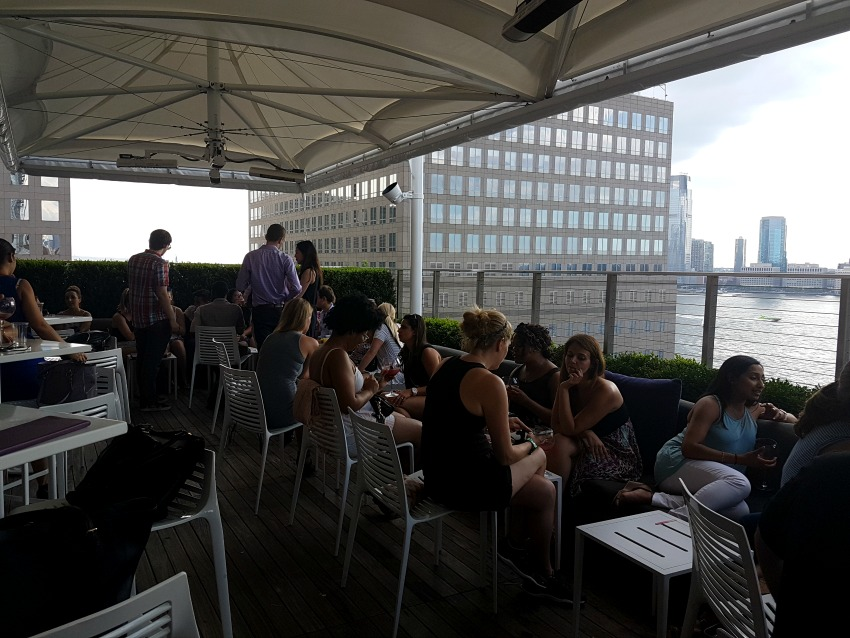 Conrad Hotel Loopy Doopy Roof Terrace NYC