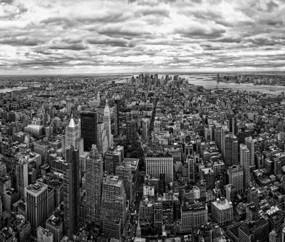 NEW YORK SKYLINE - imagem cedida por Damian Brandon / FreeDigitalPhotos.net