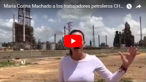 María Corina Machado envía contundente mensaje a trabajadores petroleros
