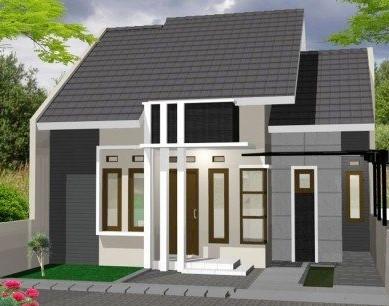 model rumah sangat sederhana terbaru