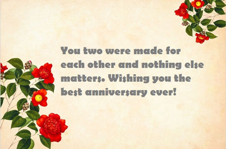 Happy Marriage Anniversary Sister Messages Status on Facebook & Whatsapp