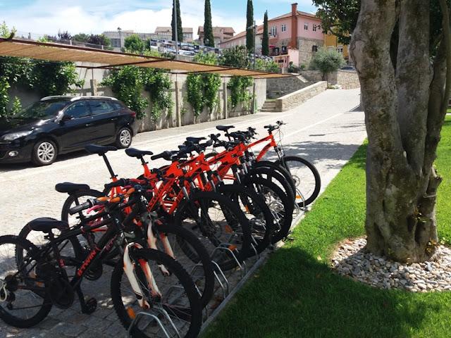 Aluguer de Bicicletas no Hotel Fonte Velha