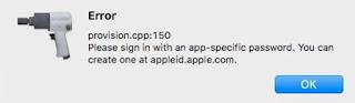 حل مشكلة الخطأ provision.Cpp : 105 على Cydia impactor