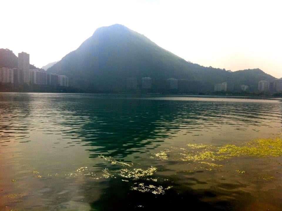 Wanderlust Chloe - Chloe Gunning - Rio De Janeiro Lagoon