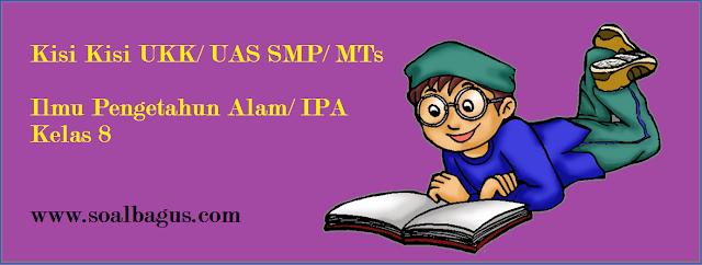 Download kisi kisi penulisan soal ukk / uas ipa smp / mts kelas 8 semester 2 / genap tahun 2017 sesuai dengan kurikulum ktsp