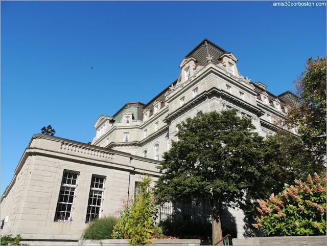 Exterior del Ayuntamiento de Montreal