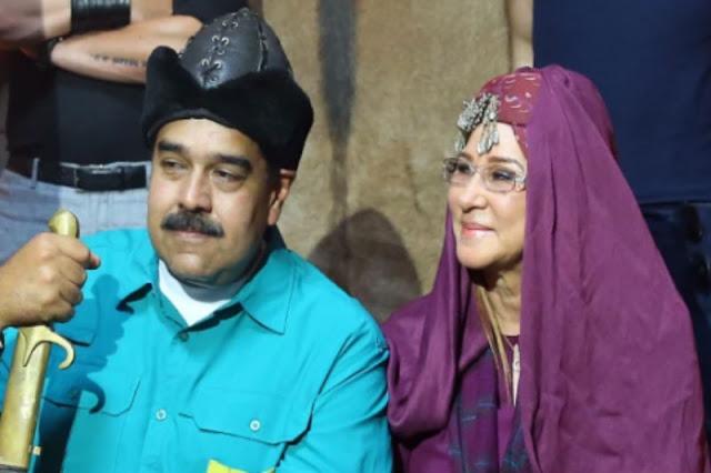 Maduro y Cillita hacen versión de Perolito y Escarlata en Turquía