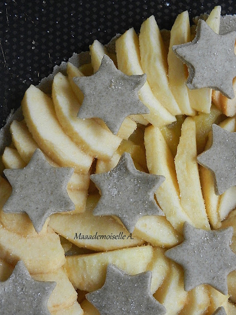 || Tarte aux pommes façon rustique 100 % maison, facile et rapide