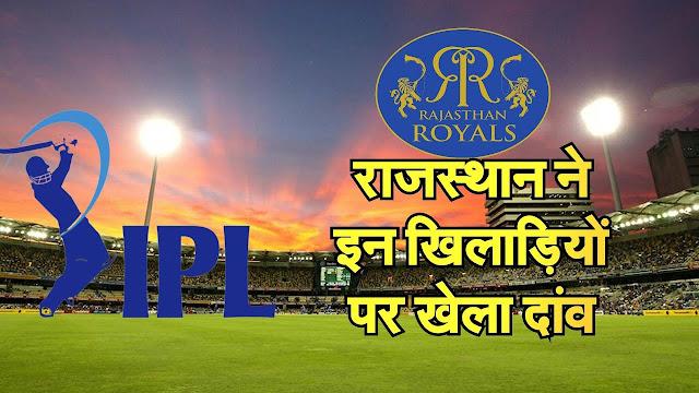 IPL 2020 Rajasthan Players List