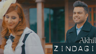 ZINDAGI LYRICS - AKHIL | Romantic Song 2017