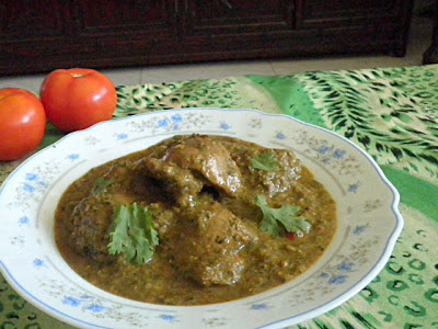 Coriander Chicken Recipe  @ http://treatntrick.blogspot.com