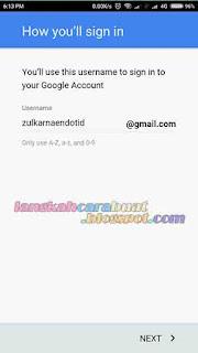 Cara Daftar Gmail Lewat HP Android Untuk Anak Sekolah