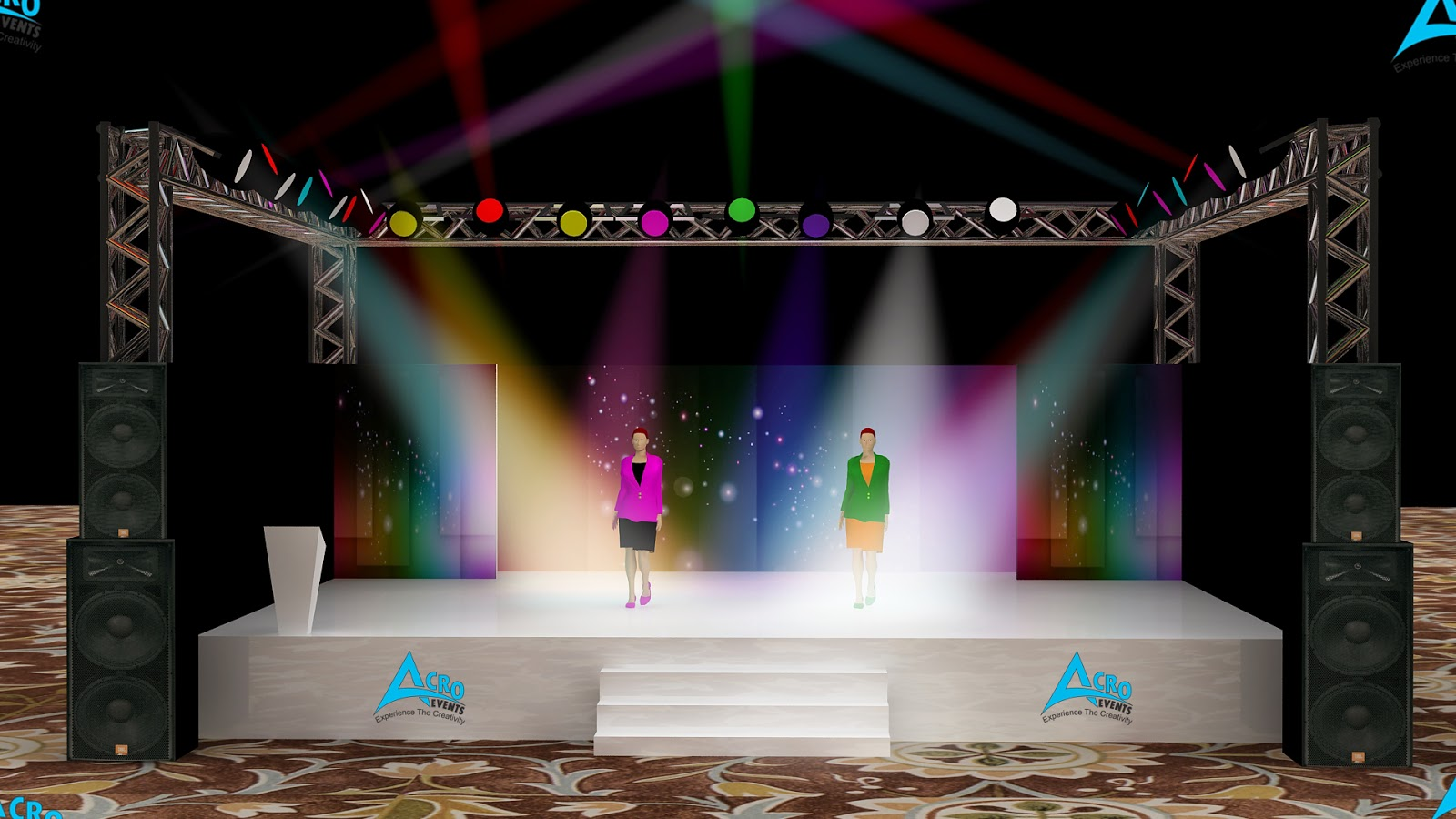 Acroevents dance competition delhi dance acroevents - Fashion show stage design architecture plans ...