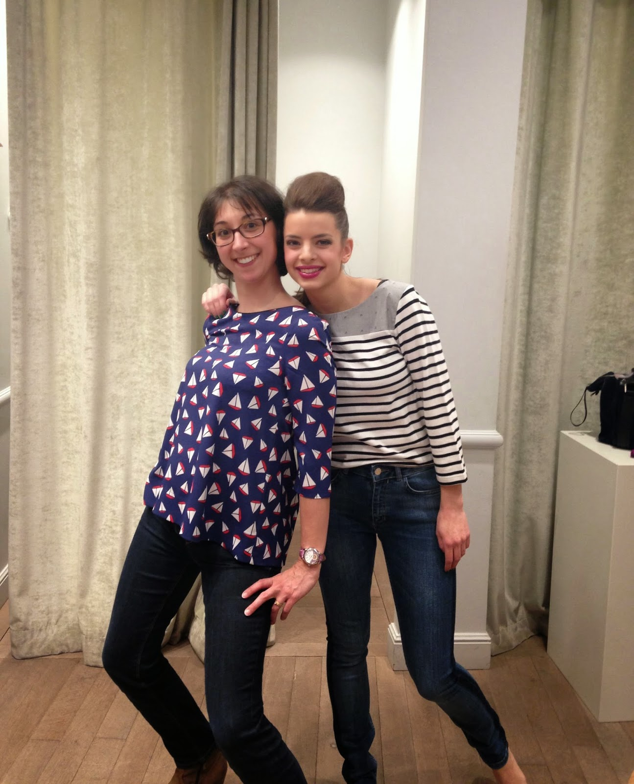 shooting photo chez claudie pierlot Tours rue des halles woody-beauty