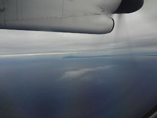 ボンバルディア DHC8-Q400と男鹿半島