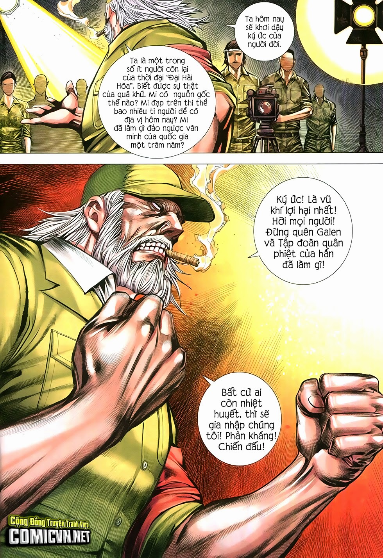 Đại Quân Phiệt chap 12 trang 14