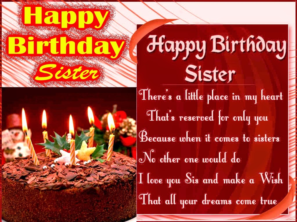 Happy Birthday quotes for Sister gifts images This Blog About – Sister Birthday Greetings Quotes