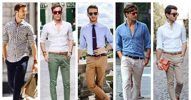How to wear chinos this summer