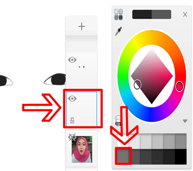 Tutorial Lengkap Edit Foto Kartun Smudge Painting Android