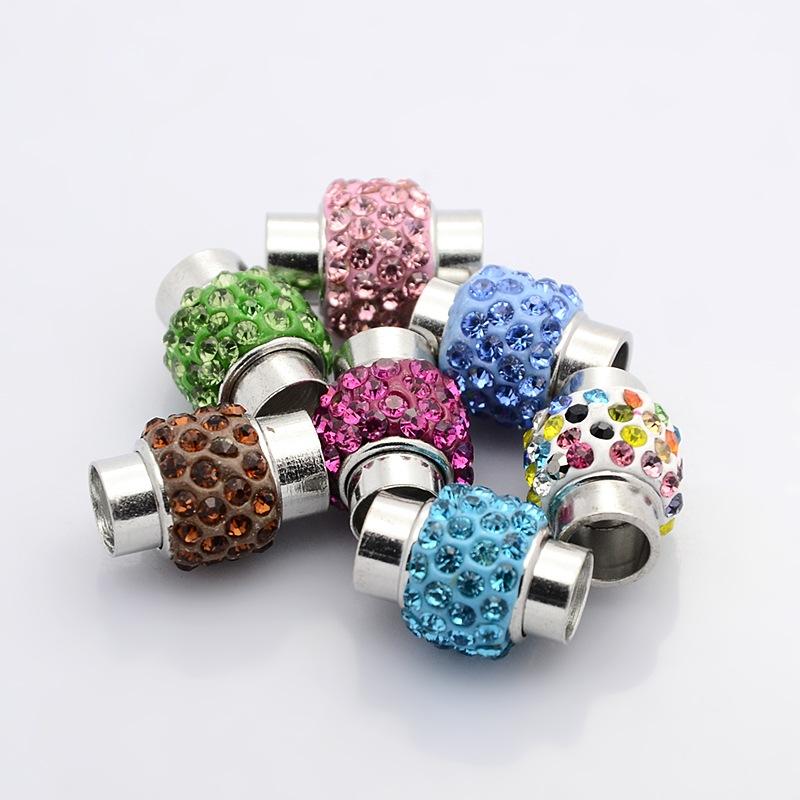 perles accesoires fabrication d un bracelet de perles de verre et perles de cristal. Black Bedroom Furniture Sets. Home Design Ideas