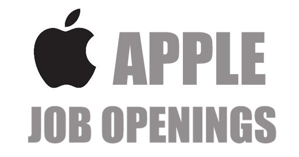 NEW JOBS UPDATES: APPLE RECRUITMENT