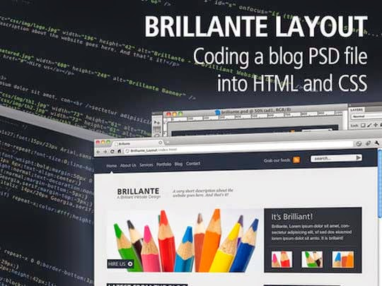 54 Excellent PSD to HTML/CSS Conversion Tutorials