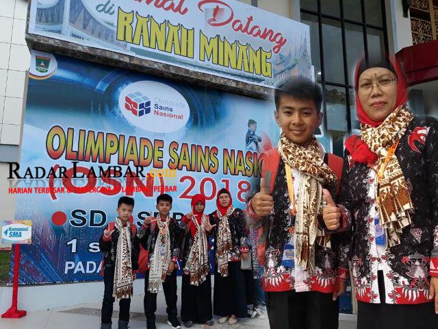 Siswa SDN 1 Waymengaku Wakili Lampung Ikut OSN Tingkat Nasional