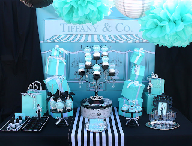 Breakfast At Tiffany S Inspired Quinceanera Laura S