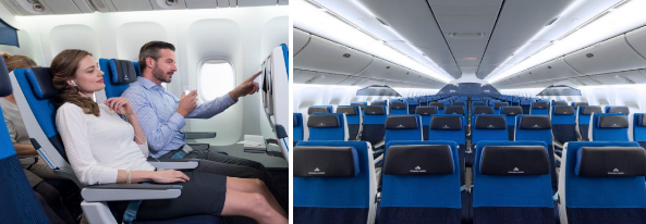 KLM update the description of the Economy Comfort seat