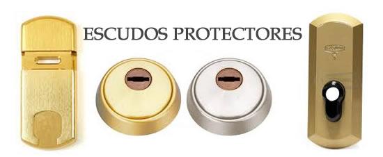 escudos protectores cerradura
