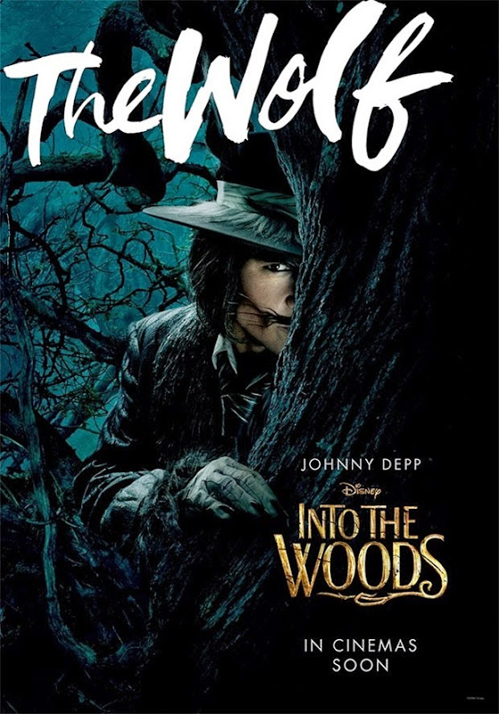 Into the Woods Wolf movie poster