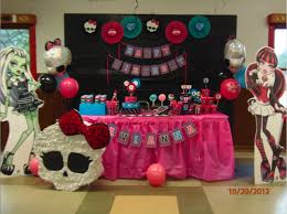 Monster High Table Decorations
