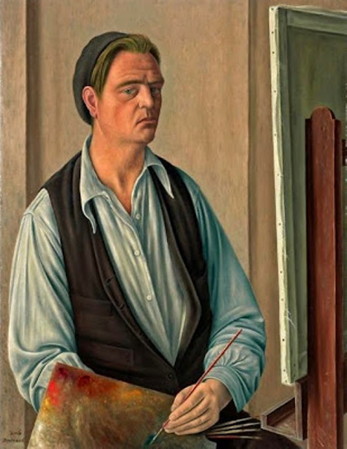 Aimé Barraud, Self Portrait, Portraits of Painters, Fine arts, Portraits of painters blog, Paintings of Aimé Barraud, Painter Aimé