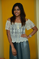 Eesha in a cute deep neck top and Skirt at at Big FM 118.JPG
