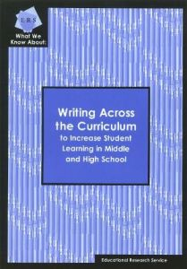 Writing across the curriculum resources for the disabled