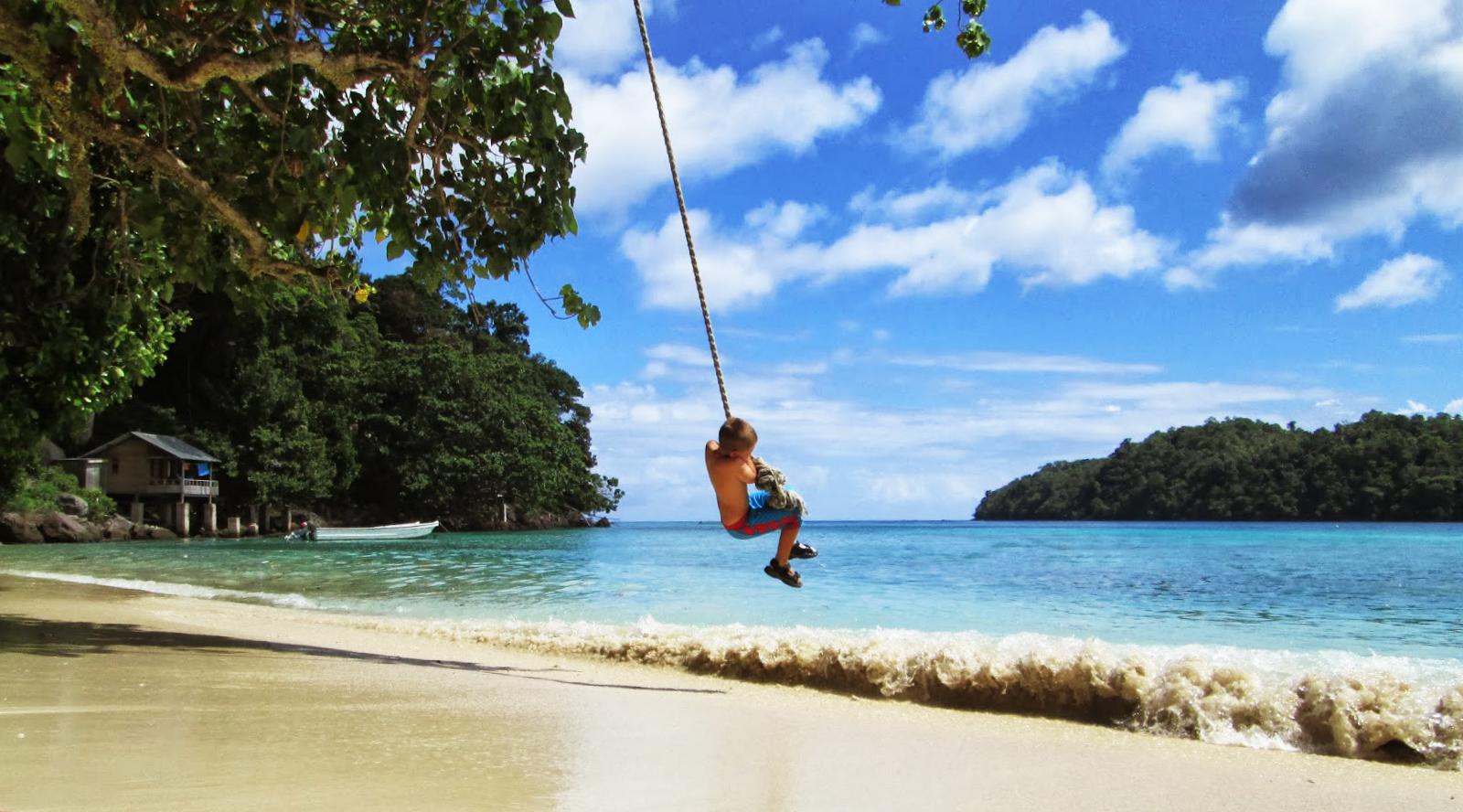 Pantai Ibioh pantai pasir putih paling keren di indonesia