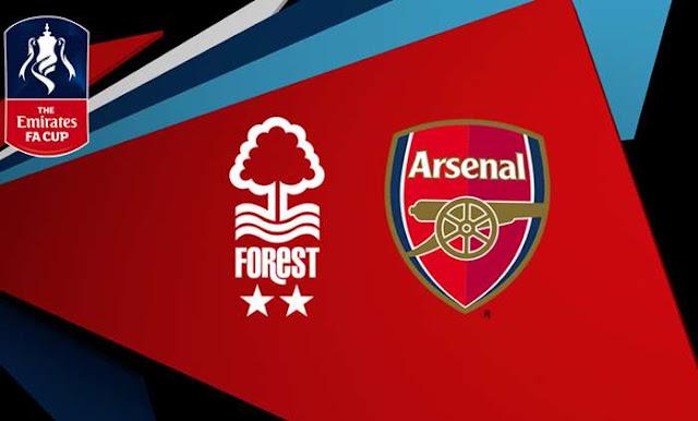 Nottingham Forest vs Arsenal  Full Match & Highlights 07 January 2018