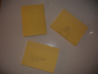 Flip Book feito com Post-It