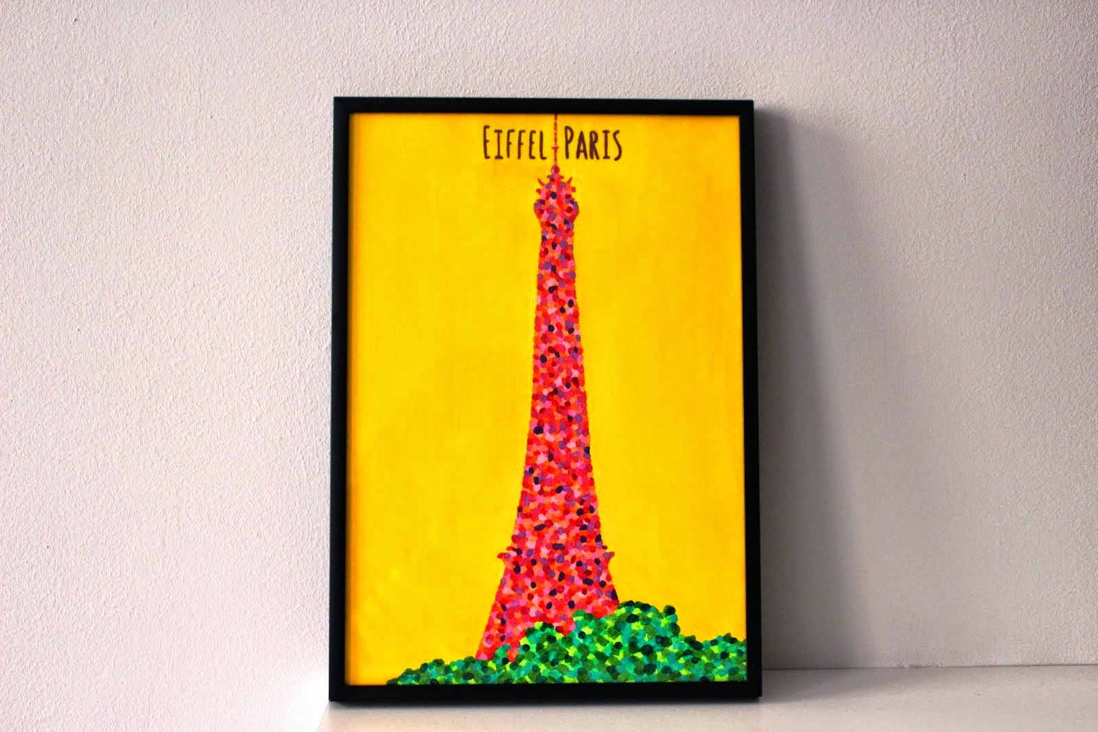 *eiffel with flowers*