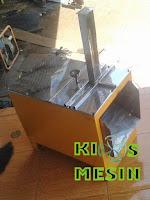 mesin perajang / pengiris / pemotong kerupuk